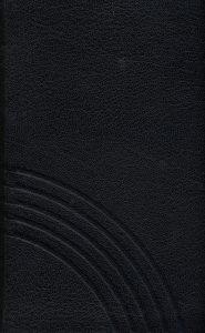 Gesangbuch Leder schwarz mit Goldschnitt Normalausgabe