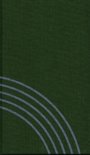 Gesangbuch Leinen grün Taschenausgabe
