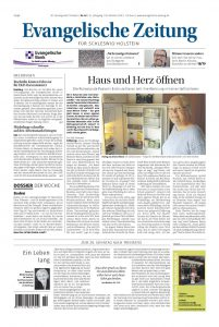 Evangelische Zeitung Schleswig-Holstein - Leseprobe, die Evangelische Kirchenzeitung für Schleswig-Holstein drei Wochen kostenlos und unverbindlich testen.
