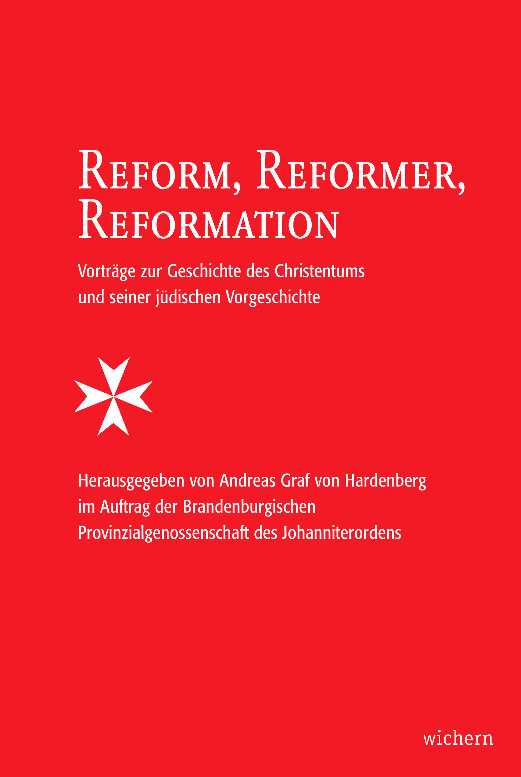 Cover Buch Reform, Reformer, Reformation