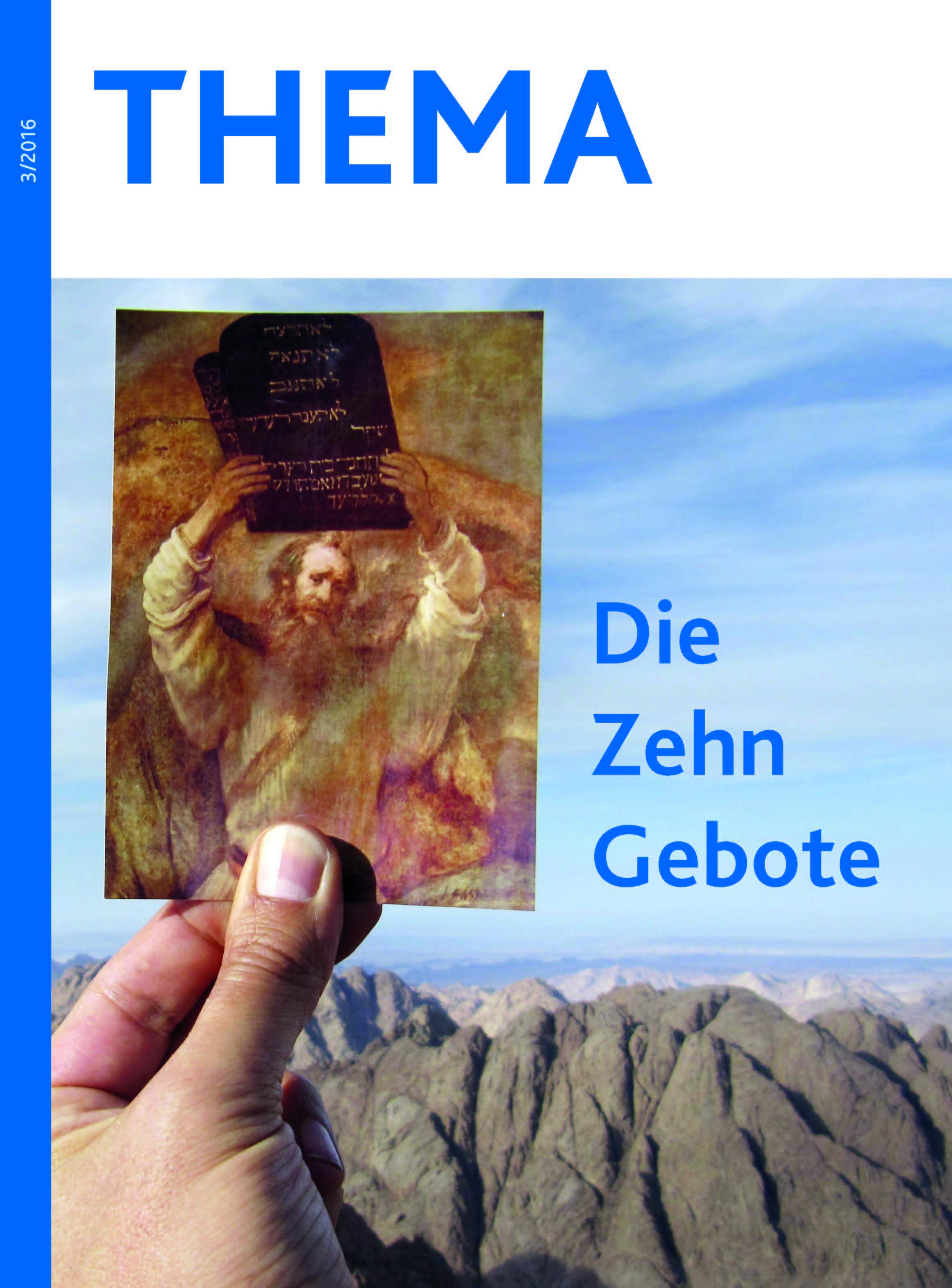 THEMA Zehn Gebote Heft