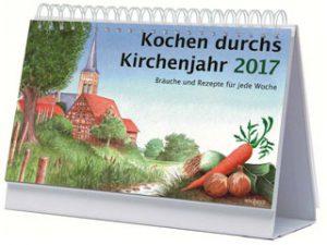 Cover des Buches Kochen durchs Kirchenjahr 2017