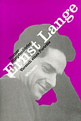 Ernst Lange. Versuch eines Poträts