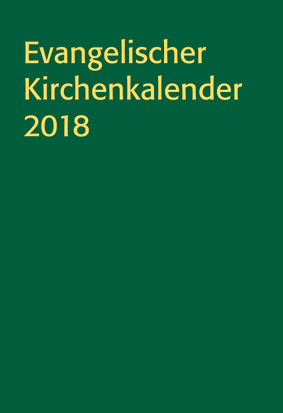 Evangelischer Kirchenkalender 2018