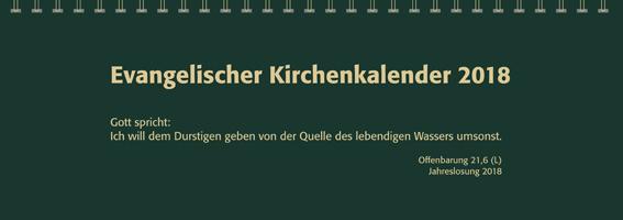 Evangelischer Tischkalender 2018